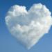 Un coeur dans les nuages